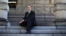 B.C. Education Minister Mike Bernier says a recent adviser's report cemented his intention to get rid of the Vancouver School Board. (Chad Hipolito for The Globe and Mail)
