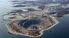 The Diavik diamond mine in the Northwest Territories. (Handout)