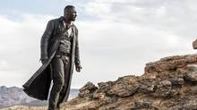 Idris Elba plays Roland Deschain the Gunslinger, in The Dark Tower, which is based on Stephen King's eight-part book series.