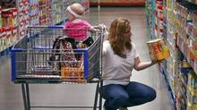 A customer shops in the baby department at a Sam's Club in Rogers, Arkansas in this June 3, 2010 file photograph. (SARAH CONARD/REUTERS)