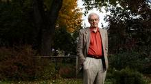 Retired Canadian diplomat John Graham poses for a photograph at his home in Ottawa. Mr. Graham once spied in Cuba in the1960s. (Dave Chan for The Globe and Mail)