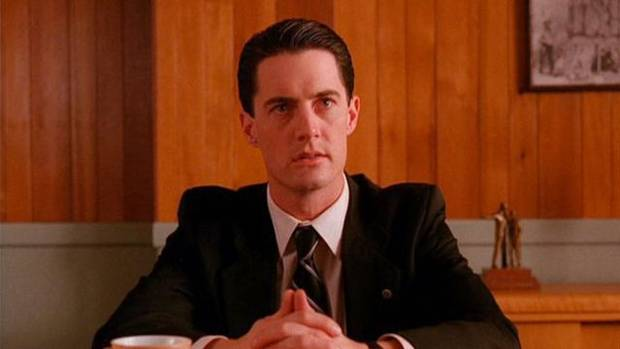 Kyle MacLachlan as FBI agent Dale Cooper in Twin Peaks.