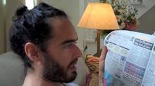 Russell Brand (Screen grab from YouTube)