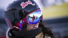 'Femininity and strength are not mutually exclusive,' Roz Groenewoud of the Canadian Freestyle Ski team says. (BEN NELMS/BEN NELMS)