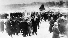 This year marks the 100th anniversary of the Russian Revolution. (The Associated Press)