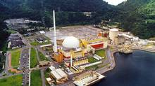 Brazil produces 3 per cent of its electricity output using nuclear power from two reactors, Angra 1 and Angra 2, near Rio de Janeiro, with total capacity of about 2,000 megawatts. It is now building Angra 3 and has plans for several more plants. (Vanderlei Almeida/AFP/Getty Images/Vanderlei Almeida/AFP/Getty Images)