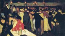 Picasso's nightclub scene, Le Moulin de la Galette (1900),