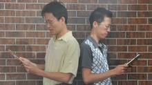WattPad CEO Allen Lau, left, and co-founder Ivan Yuen. (COURTESY OF ALLEN LAU)