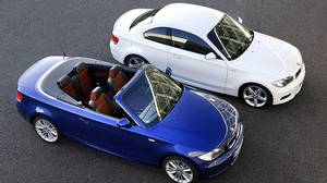 The sub-$50,000 convertible might be possible if you're really careful with the BMW 128i ($41,000), but not the more powerful 135i convertible, pictured ($48,400).