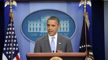 U.S. President Barack Obama (JEWEL SAMAD)