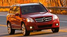 2010 Mercedes-Benz GLK 350 Credit: Mercedes-Benz