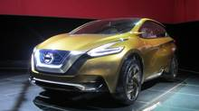 Nissan Resonance: there it was, gone. (Darren McGee/The Globe and Mail)