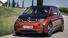 2014 BMW i3 electric car (BMW)