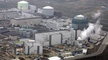 Hokkaido Electric Power Co.'s Tomari nuclear power plant is seen in Tomari town on Japan's northern island of Hokkaido, in this picture taken by Kyodo on April 16, 2008. (KYODO/REUTERS)