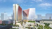 True North Square's four towers are to include a luxury hotel, class-A office, residential and retail space. (True North Sports and Entertainment)