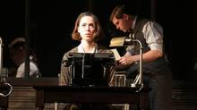 Rebecca Hall plays a woman who murders her husband in the ground-breaking 1928 expressionist play Machinal.
