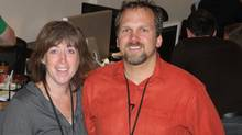 Sandra, left, and Chad Ballantyne, co-founders of The Creative Space (COURTESY OF CHAD BALLANTYNE)