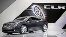 GM has gone upmarket with the 2014 Cadillac ELR. (REBECCA COOK/REUTERS)