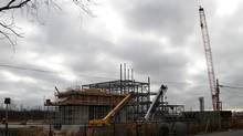 Construction site of the Mississauga gas-fired generating station. The Liberal provincial government cancelled this electricity station. (Fernando Morales/The Globe and Mail)