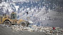 The Cache Creek landfill in Cache Creek, B.C. March 18, 2009. (John Lehmann/ The Globe and Mail/John Lehmann/ The Globe and Mail)