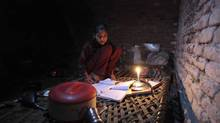 Trade would allow the import of Indian technology to improve Pakistani productivity. <137>Noreen, 13, uses candlelight as she studies during a power outage in a slum in Islamabad April 29, 2013. Two Pakistani ministers in charge of water and power, Musadiq Malik and Sohail Wajahat Siddiqui, explained what can be done to end power cuts of up to 20 hours a day in parts of the country enduring temperatures of 40 degrees Celsius and above - absolutely nothing, it seems, except raise prices. Picture taken April 29, 2013. REUTERS/Faisal Mahmood (PAKISTAN - Tags: POLITICS ENERGY SOCIETY)<137><137><252><137> (FAISAL MAHMOOD/REUTERS)