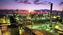 The RasGas liquefied natural gas plant in Ras Laffan Industrial City, Qatar. For the world's largest LNG-exporting country, it's about being the most efficient with a looming global supply glut. (Qatar Petroleum/REUTERS)