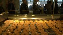 Krispy Kreme Doughnuts has refined its business strategy and is now enjoying sweet success with its shares. (Louie Palu/The Globe and Mail)