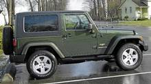 2008 Jeep Wrangler (Ted Laturnus for The Globe and Mail)