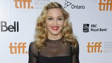 """Director Madonna attends the gala screening for the film """"W.E."""" during the Toronto International Film Festival on Monday, Sept. 12, 2011 in Toronto. (Evan Agostini/Evan Agostini/AP)"""