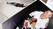 Sports Illustrated photos of Reggie Fleming when he was knocked out on the ice in January, 1964. (Warrren Skalski)