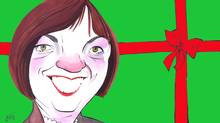 Sheila Copps on Christmas (Anthony Jenkins/The Globe and Mail)