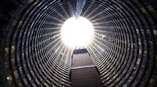 The distinctive Ponte tower was once a symbol of Johannesburg's modernism, then its decay and now its struggle for regeneration. (Associated Press)