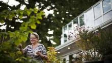 Elisabeth Obesen, owner of 2523 Wall, purchased the property and had the house built, along with a $150,000 garden. (photos: Rafal Gerszak for the globe and mail)