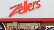 A Zellers store in New Minas, N.S. (PAUL DARROW/Paul Darrow for The Globe and Mail)