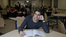 U.S.-Canadian citizen Deven Sanon, a third-year finance student at McGill University, pays just $4,200 tuition annually, quite a deal compared to $60,000 (U.S.) at a U.S. school. (Christinne Muschi for The Globe and Mail)