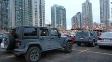 Most Jeeps find themselves trapped in the concrete city jungle. (Peter Cheney/The Globe and Mail)