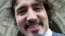 Liberal MP Justin Trudeau on Parliament Hill in Ottawa on Wednesday, November 30, 2011. (Sean Kilpatrick/Sean Kilpatrick/THE CANADIAN PRESS)