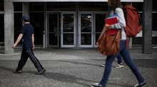 Students in B.C., including at the University of Victoria, will have free access to textbooks for the 40 most popular courses in the province. (CHAD HIPOLITO For The Globe and Mail)