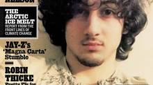 """Accused Boston bomber Dzhokhar Tsarnaev is seen on the cover of the August 1 issue of """"Rolling Stone"""" magazine in this handout image received by Reuters July 17, 2013. Boston officials reacted with outrage Wednesday to an upcoming cover of """"Rolling Stone"""" magazine, featuring an image of accused marathon bomber Dzhokhar Tsarnaev that was described by Mayor Thomas Menino as """"a disgrace."""" REUTERS/Rolling Stone Magazine/Handout via Reuters (HANDOUT/Reuters)"""
