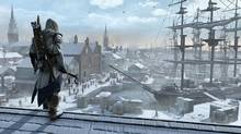 In Assassin's Creed III , the game's recreation of Colonial America – seen through the eyes of a half-British, half-Native assassin named Connor – is a living, breathing ecosystem that is so convincingly done, you might believe it continues to click and whir even after you've shut off the console. (Ubisoft Montreal)
