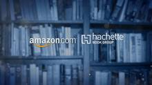 The war between Amazon and publisher Hachette continues to escalate, with authors and consumers getting dragged into battle. Bobbi Rebell reports. (Reuters)