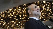 U.S. Fed chairman Ben Bernanke (JONATHAN ERNST/REUTERS)
