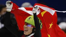 Zhou Yang won the gold medal for the women's 1500-metre short track skating competition at the 2010 Winter Olympic Games in Vancouver. (Ivan Sekretarev/AP/Ivan Sekretarev)