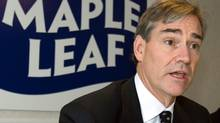 Michael McCain, president of Maple Leaf Foods, holds media briefing on new food safety protocols at its new packaging meat plant in Laval, Que., Friday, Dec. 12, 2008. (Ryan Remiorz)