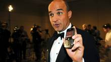 Jim Balsillie, the co-chief executive of Research in Motion, is photographed after announcing a $212.5 million offer to buy the Phoenix Coyotes in Toronto, Ont. May 5/2009. (Kevin Van Paassen/Kevin Van Paassen/The Globe and Mail)