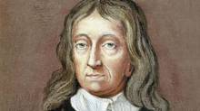 A portrait of English poet John Milton