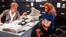 Though parts of Working Girl appear comically dated, the character's difficult climb to the top still feels familiar. (THE KOBAL COLLECTION/20TH CENTURY FOX)