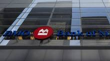 The Bank of Montreal Financial Group building in downtown Toronto is shown in this file photo. (Nathan Denette/THE CANADIAN PRESS)