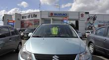 The Mississauga Suzuki car dealership in Mississauga, March 26, 2013. Suzuki announced that it will be abandoning the Canadian car market after the 2014 model year. (J.P. Moczulski for The Globe and Mail)