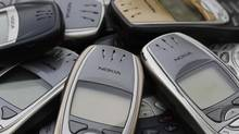 Cell phones are seen in this file photo. (CHRISTIAN HARTMANN/REUTERS)